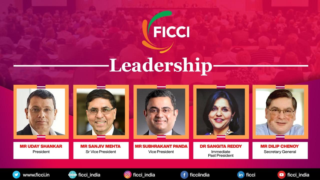 Mr Uday Shankar,FICCI ,Mr Sanjiv Mehta ,Senior Vice President,Mr Subhrakant,FICCI leadership,Vice President