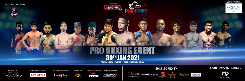 Emerging Boxers,Pro Boxing Event,Mumbai