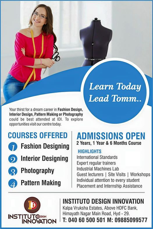 Top Fashion Textile Design Colleges In Hyderabad